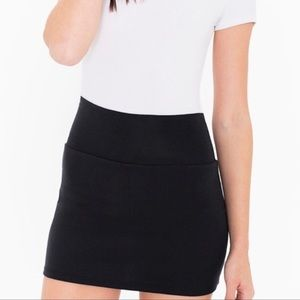 American Apparel mini skirt stretch